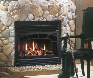 ZDV3622 gas fireplace by Kingsman Industries